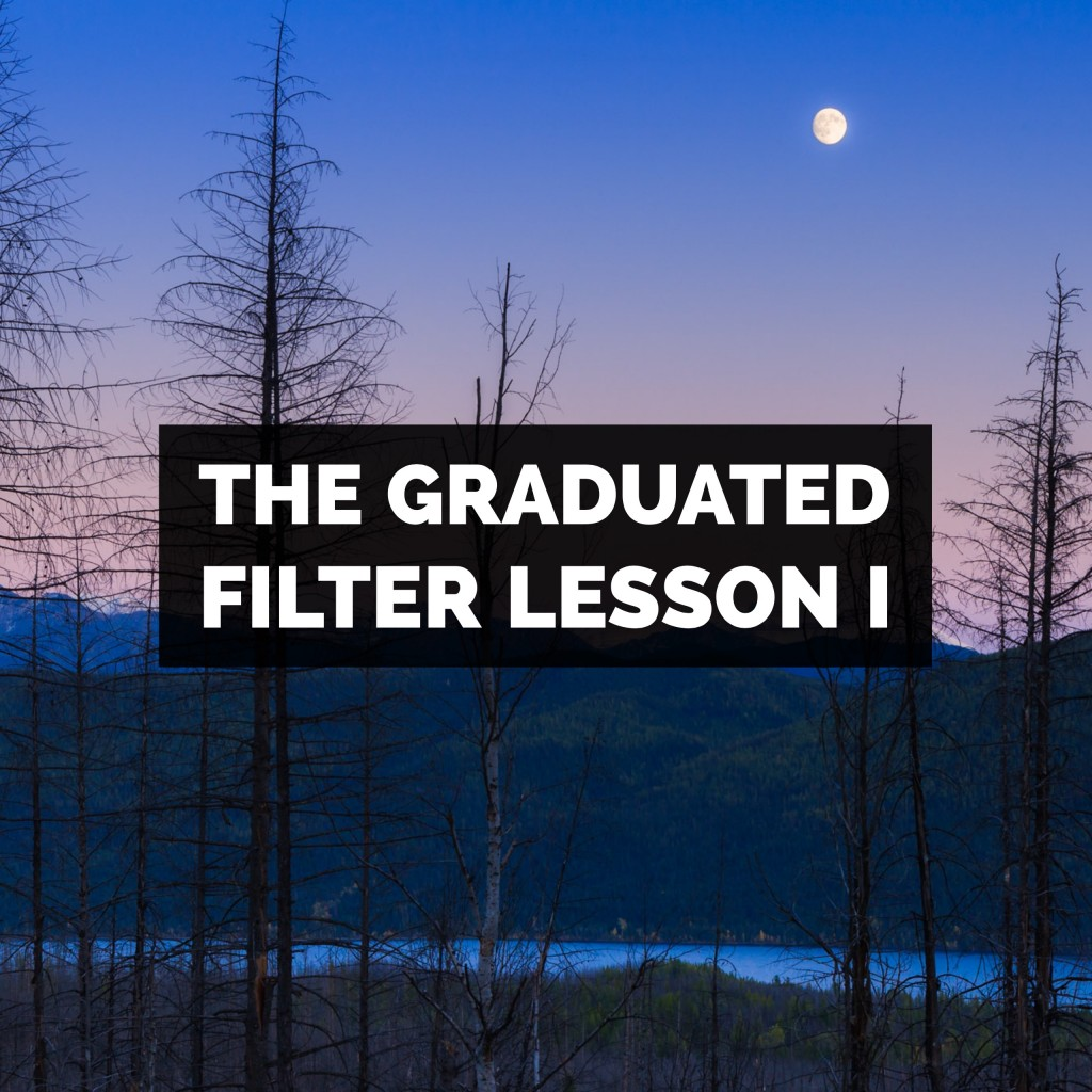 How To Use The Graduated Filter In Adobe Photoshop Lightroom Classic