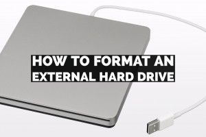 How To Format An External Hard Drive