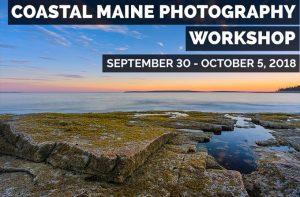 Coastal Maine Photography Workshop Banner