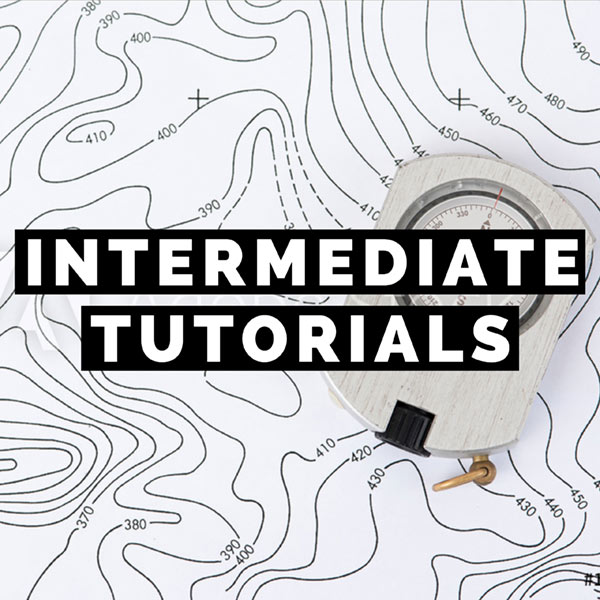 INTERMEDIATE ADOBE PHOTOSHOP CC TUTORIALS