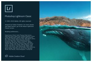 Adobe Photoshop Lightroom Classic version 9 Cover Art