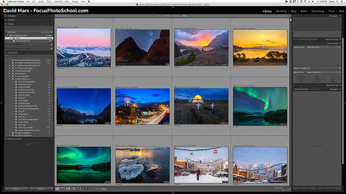 Adobe Photoshop Lightroom Classic Library Module